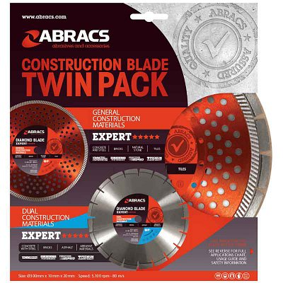 Construction Blade Twin Pack