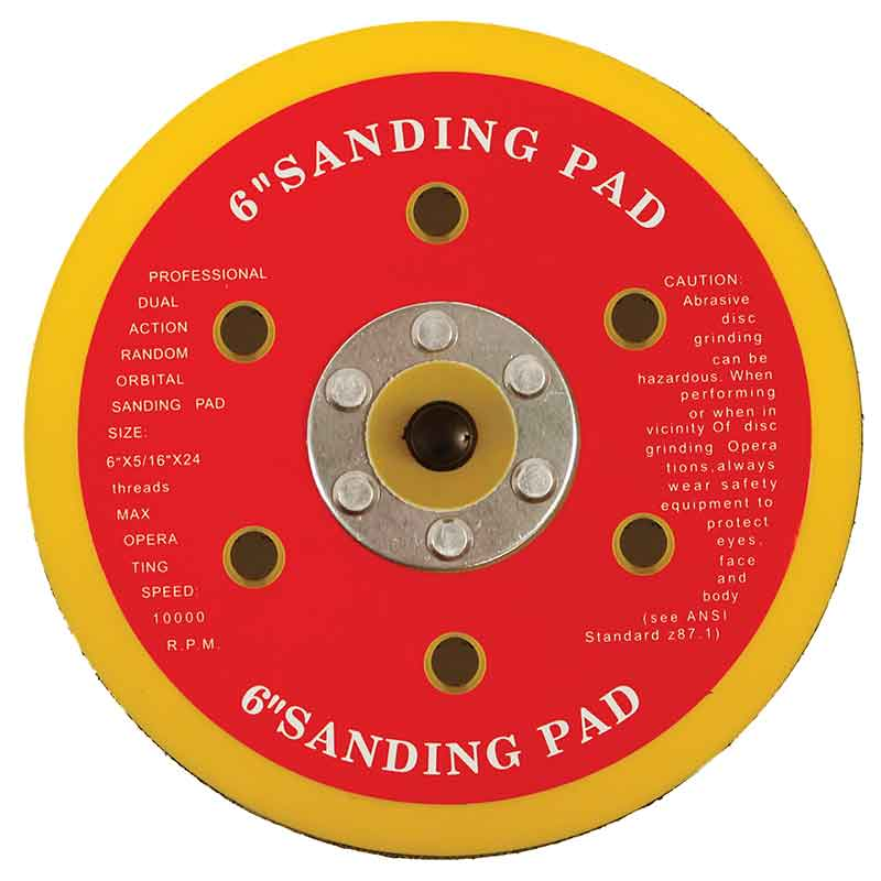 Hook & Loop Backing Pads