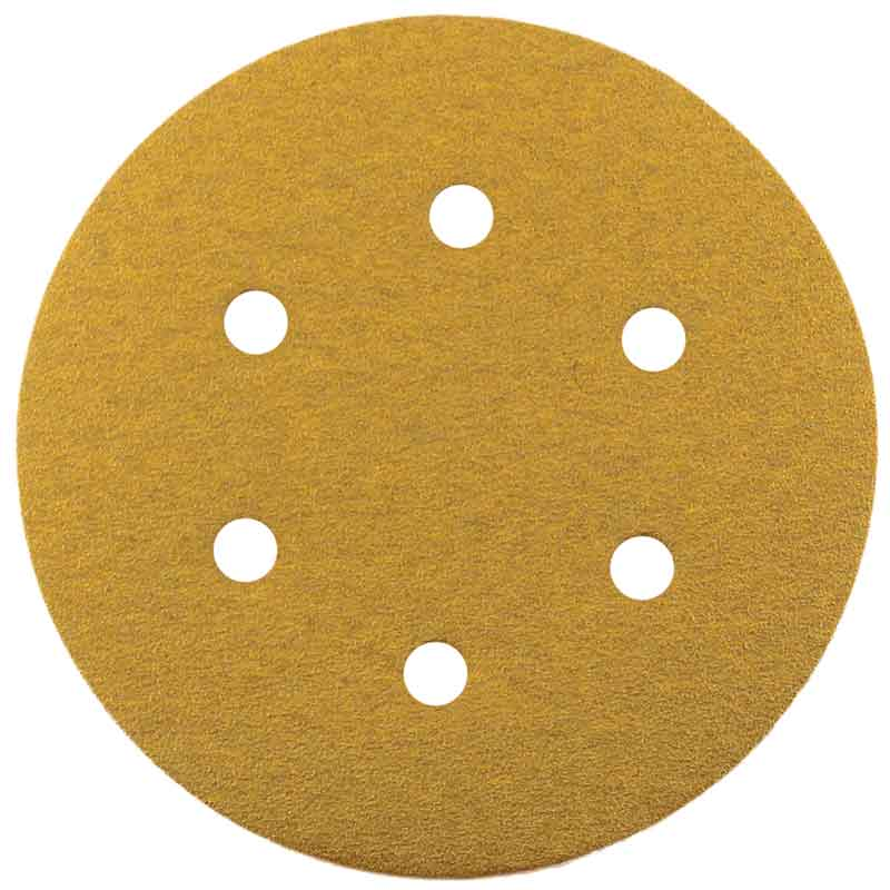 Hook & Loop Gold Sanding Discs