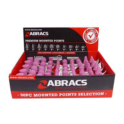 50 piece mounted point pack