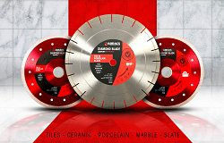 Tile & Porcelain Diamond Blades Range Extension
