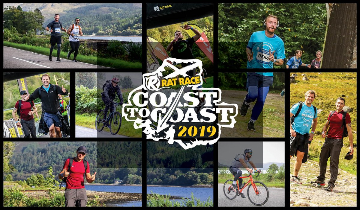 Abracs Rat Racers go Coast to Coast for Cancer Research UK