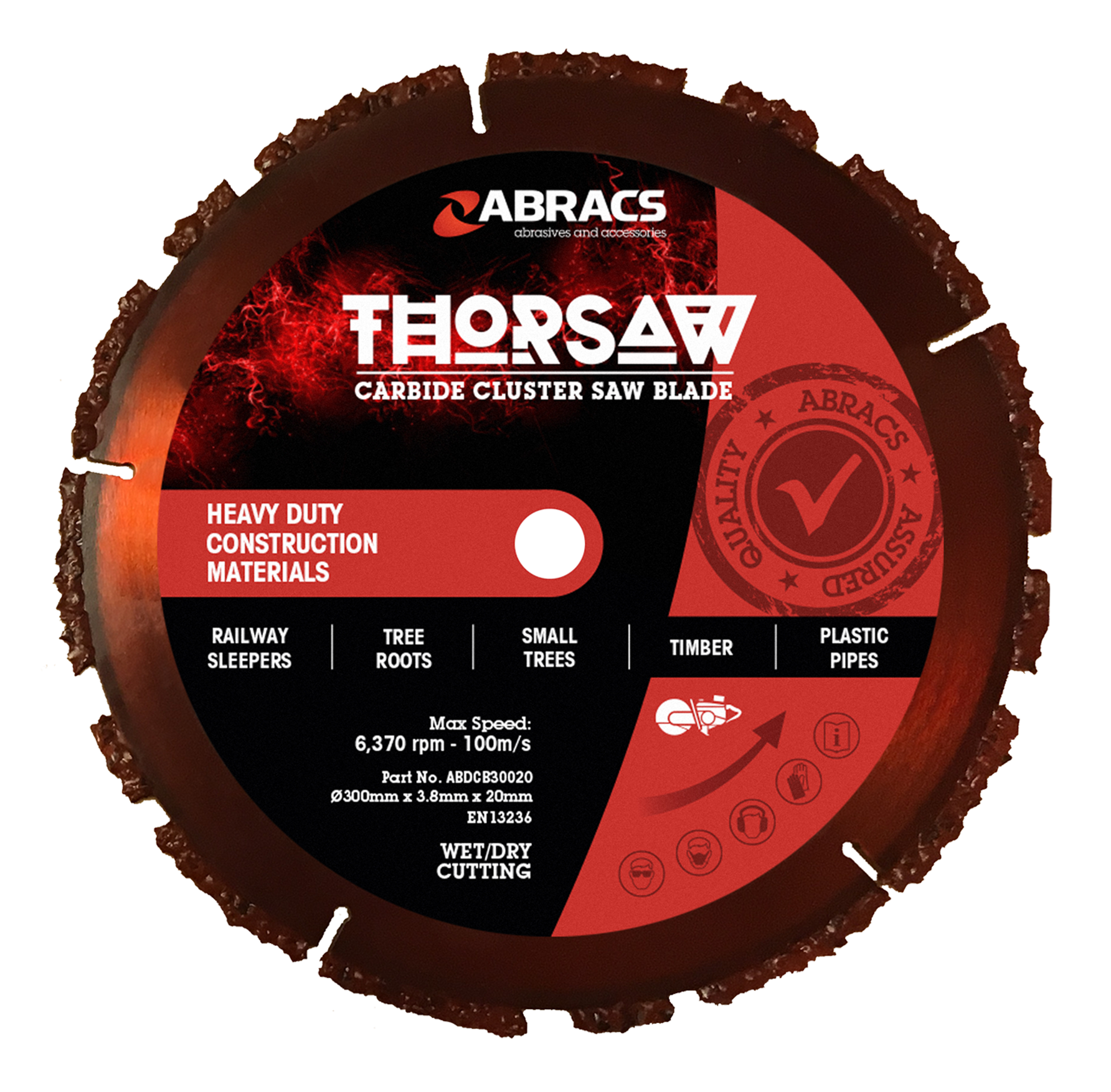 Thorsaw Carbide Cluster Blade