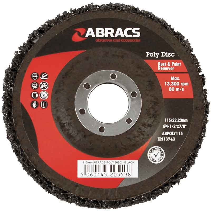 Poly Disc Abracs Rust Remover Disc Allied Welding